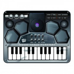 Szintetizátor zenélő szőnyeg - táncszőnyeg - Játék hangszerek - Játék hangszerek