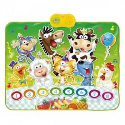 Állatok zenélő játszószőnyeg - Játék hangszerek - Játék hangszerek