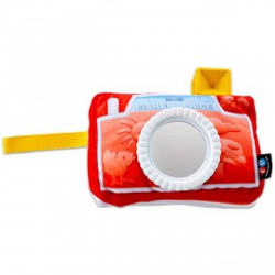 Fisher-Price tükrös kamera plüss, bébijáték Fisher-Price - Bébijátékok Fisher-price