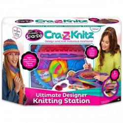 Cra-Z-Knitz Trendi Csajszi Design Stúdió - Cra-Z-Knitz kreatív játékok - Cra-Z-Knitz kreatív játékok Cra-Z-Knitz