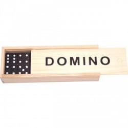 Fa dominó készlet dobozban - kicsi - Logikai fajátékok - Fajátékok