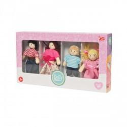 Le Toy Van - Az én családom fa babaházakhoz, fajáték - Fajátékok lányoknak - Fajátékok