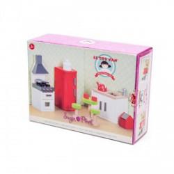 Le Toy Van - Konyha fa bababútor készlet - Lányos játékok