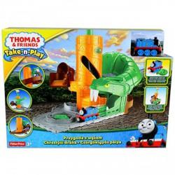 Thomas - csörgőkígyó pálya (TA-TP) - Thomas a gőzmozdony - Bébijátékok Fisher-price