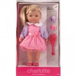Charlotte fésülhető puha baba - 36 cm - Dolls World babák - Dolls World babák Dolls World