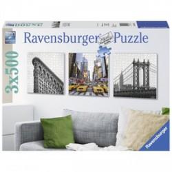 Ravensburger - New York 3 x 500 darabos puzzle - RAVENSBURGER játékok - Kirakók, puzzle-ok