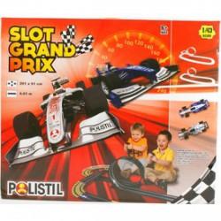 Slot Grand Prix autópálya 1:43 6, 1 m AUTÓPÁLYÁK-MODELLVASÚT