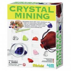 4M kristály bányász készlet - Tudomány és kreatív játék - KIDZ Labz játékok