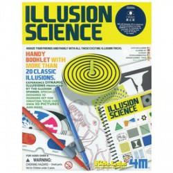 4M Illúziós tudomány készlet - Tudomány és kreatív játék - KIDZ Labz játékok