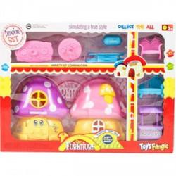 Gomba házikó étkező szobabútorral - Lányos játékok - Lányos játékok