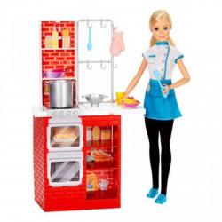 Barbie - olasz konyhával - Barbie babák - Barbie babák