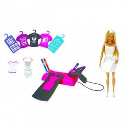 Barbie - Festékszóró stúdió babával - Barbie babák - Barbie babák