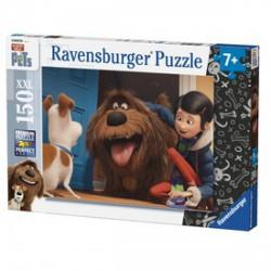 Ravensburger - Kis kedvencek titkos élete 150 darabos XXL puzzle - RAVENSBURGER játékok - Kirakók, puzzle-ok