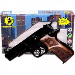 Rendőrpisztoly, patronos - játék - Játék fegyverek - Játék fegyverek