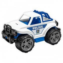 Műanyag rendőrségi terepjáró - Bébijátékok - Bébijátékok