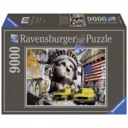 Ravensburger New York 9000 darabos puzzle - RAVENSBURGER játékok - Kirakók, puzzle-ok Ravensburger