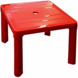 Négyszögletű műanyag gyerekasztal - 46x46x42cm, többféle színben - Kerti és vízes játékok - Kerti és vízes játékok