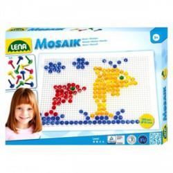 Lena - Mozaik 260 darabos képkirakó - 10 mm, kristályos - Lena golyófuttató, pötyi, műanyag játékok - Lena golyófuttató, pötyi, műanyag játékok