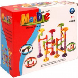 Marble 58 darabos műanyag golyópálya - Tudomány és kreatív játék - Tudomány és kreatív játék