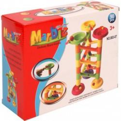 Marble 30 darabos műanyag golyópálya - Tudomány és kreatív játék - Tudomány és kreatív játék