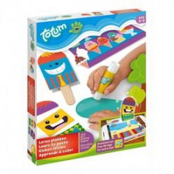 Totum Kis mesterek - ragasztani tanulok kreatív készlet - Totum kreatív játékok - Bébijátékok Totum