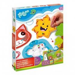 Totum Kis mesterek - hímezni tanulok kreatív készlet - Totum kreatív játékok - Totum kreatív játékok Totum