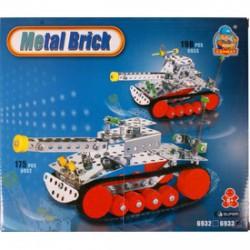 Fémépítő - Intelligent tank 198 darabos fém építőjáték - Fémépítők - Építőjátékok