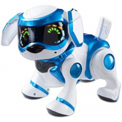 Teksta robot kutyus - 5. generáció, több színben - TÁVIRÁNYÍTÓS játékok - Pályák, kisautók Teksta