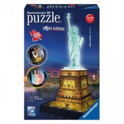 Ravensburger - Puzzle 3D 216 db - Szabadságszobor világító - RAVENSBURGER játékok - Kirakók, puzzle-ok