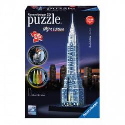 Ravensburger - Puzzle 3D 216 db - Chrysler épület világító - RAVENSBURGER játékok - Kirakók, puzzle-ok