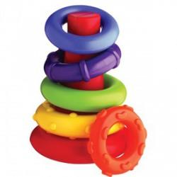 Gyűrűpiramis bébijáték - Bébijátékok - Bébijátékok