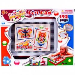 Képkirakó gyöngymozaik hordozható tárolóval - Lányos játékok - Lányos játékok