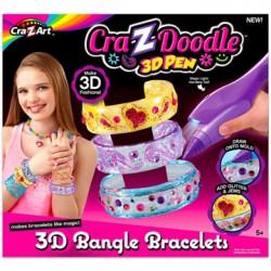 Cra-Z-Doodle 3D karperec készítő - Cra-Z-Knitz kreatív játékok - Cra-Z-Knitz kreatív játékok Cra-Z-Doodle