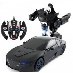 Rastar - Távirányítós Transformer robot és autó - fekete RASTAR - Hasbro játékok Rastar