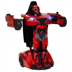 Rastar - Távirányítós Transformer robot és autó - piros RASTAR - Hasbro játékok Rastar