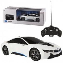 Rastar - Távirányítós BMW i8 - USB, 1:14 RASTAR - Pályák, kisautók Rastar