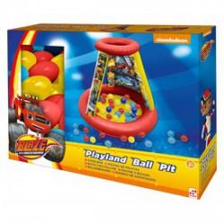 Láng felfújható játszóház labdákkal - Bébijátékok - Bébijátékok