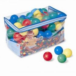 Színes játéklabda 100 darabos készlet - 6,5cm - Bébijátékok - Bébijátékok Bestway