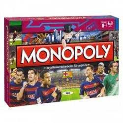 Monopoly társasjáték - FC Barcelona kiadás - Társasjátékok - FOCIS játékok Monopoly