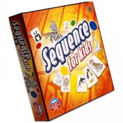 Sequence gyerekeknek szórakoztató stratégiai játék - Társasjátékok - Kirakók, puzzle-ok