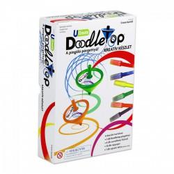 Pingáló Pörgettyű - Doodletop design szett - Tudomány és kreatív játék - Tudomány és kreatív játék