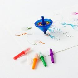 Pingáló Pörgettyű - Doodletop 1 db-os Játék