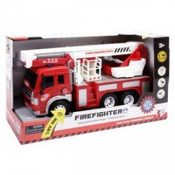 Létrás tűzoltóautó fénnyel és hanggal 1:16 - Bébijátékok - Bébijátékok