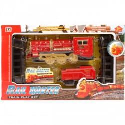 Rail Master gőzmozdony vonatkészlet - Pályák, kisautók - Pályák, kisautók