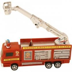 Tűzoltóautó emelőkosárral 20 cm - Bébijátékok - Bébijátékok