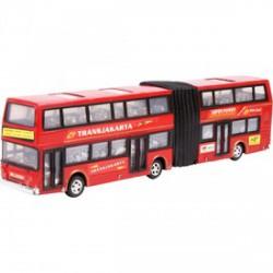 Express emeletes busz - piros, 35 cm - Bébijátékok - Bébijátékok