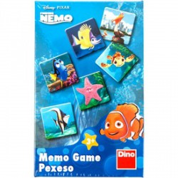 DINO - Némó nyomában memóriajáték - Dino puzzle, társasjátékok - Dino puzzle, társasjátékok