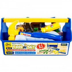 Játék szerszámos láda szerszámokkal - Barkácsolós játékok - Barkácsolós játékok