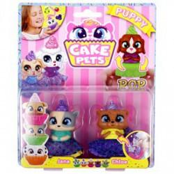 Süti állatkák 2 darabos készlet - többféle - Cupcake - Sütibabák és fagyikehely babák - Cupcake - Sütibabák és fagyikehely babák