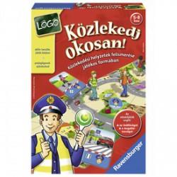 Ravensburger - Közlekedj okosan társasjáték - Kirakók, puzzle-ok - Kirakók, puzzle-ok
